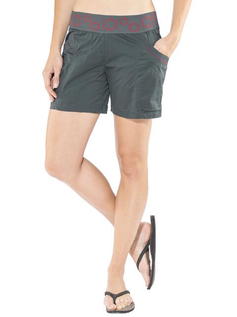 Ocun Pantera Spodnie krótkie Kobiety niebieski